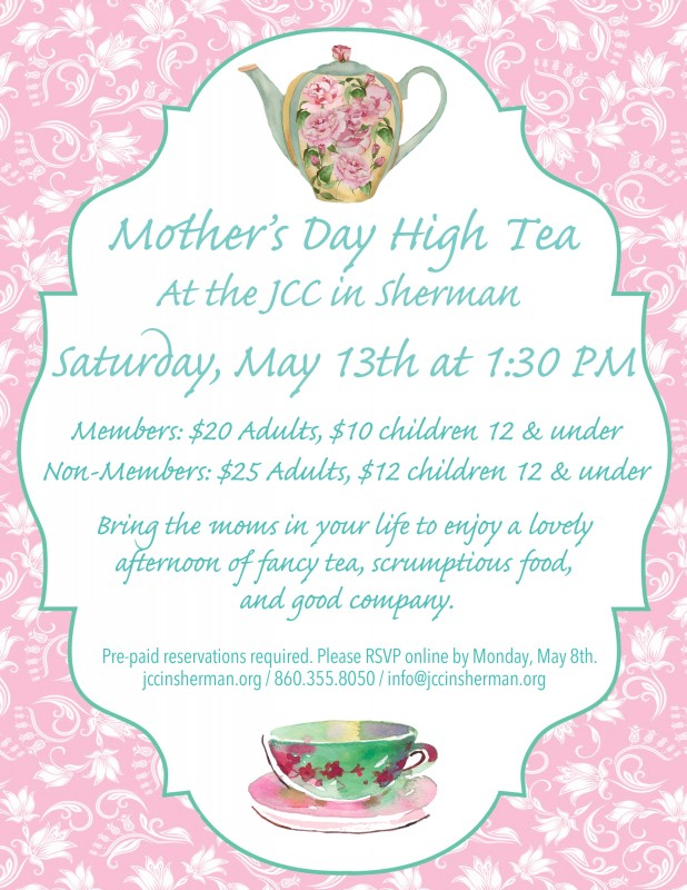 Mother S Day High Tea New Milford Events