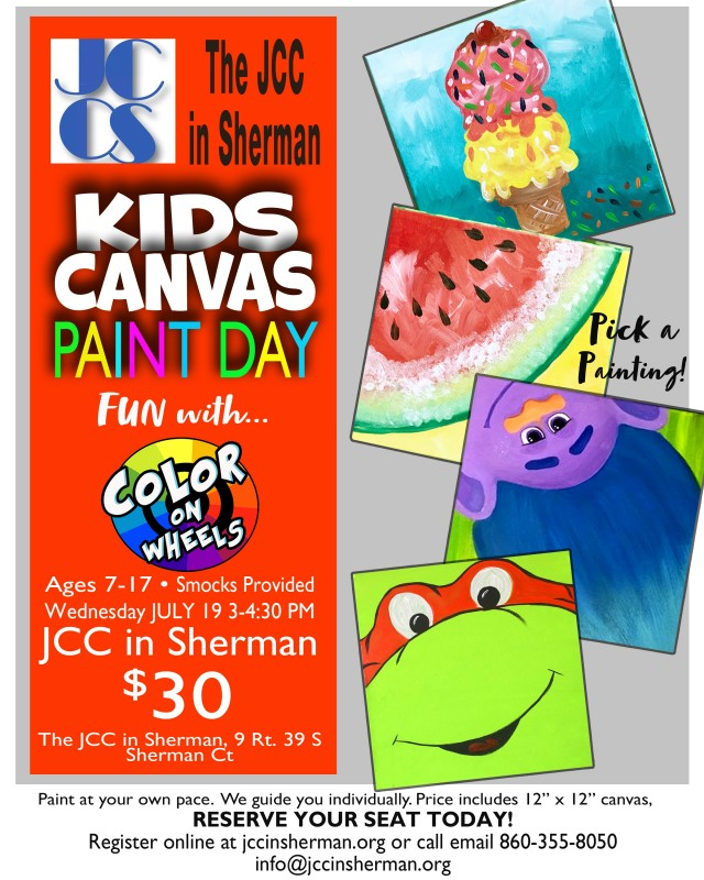 Kids Canvas Paint Day - New Milford Events