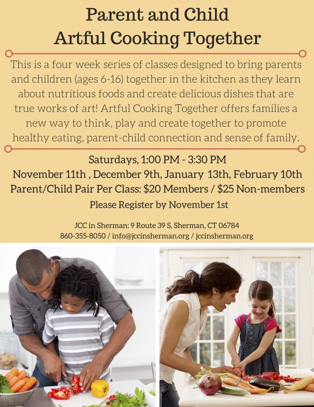 Parent & Child Artful Cooking Together - New Milford Events